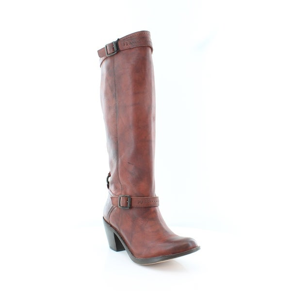 Frye Carmen Women's Boots Burnt Red - 8