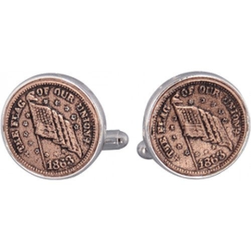 The Flag Of Our Union Cufflinks Coin Collector Memorbilla