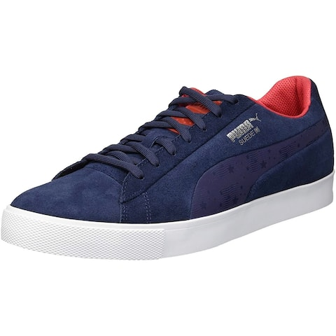 PUMA Suede G Ryder Cup Edition Team Spikeless Golf Shoe