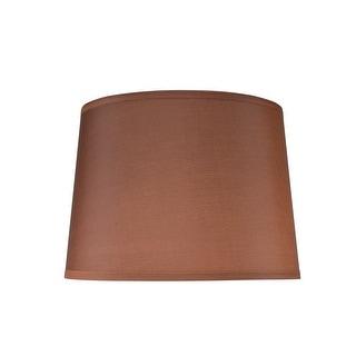 "Link to Aspen Creative Hardback Empire Shape Spider Construction Lamp Shade in Dark Brown (12"" x 14"" x 10"") Similar Items in Lamp Shades"
