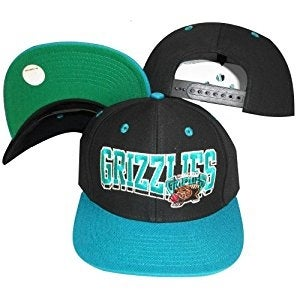 958be6b27cf Shop Vancouver Grizzlies Wave Black Teal Two Tone Plastic Snapback  Adjustable Cap - Free Shipping On Orders Over  45 - Overstock - 17247951