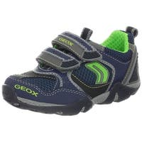 Geox Boys Aragon Casual Sneakers Shoes - navy/royal