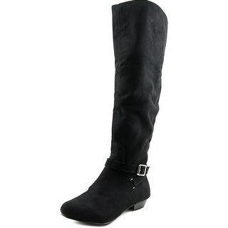Fergalicious Dominate   Pointed Toe Suede  Over the Knee Boot