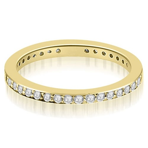 1.50 cttw. 14K Yellow Gold Round Diamond Eternity Ring,HI,SI1-2