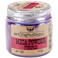 Finnabair Art Ingredients Mica Powder .6oz-Purple