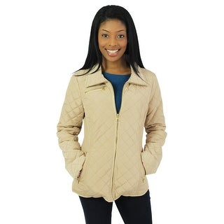 Jessica Simpson Women's Diamond Quilted Jacket Coat