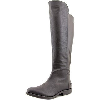 Blowfish Amore Women Round Toe Synthetic Black Knee High Boot