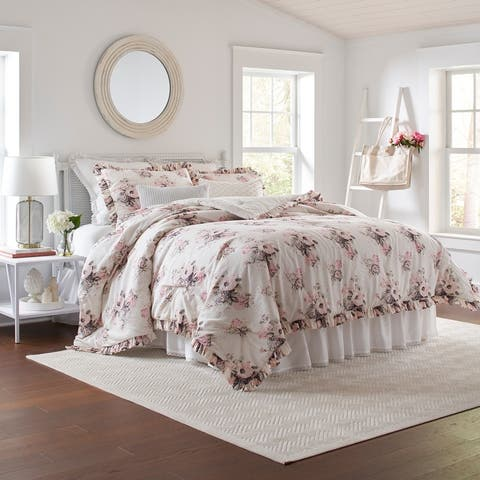 Laura Ashley Viola Cotton Comforter Set