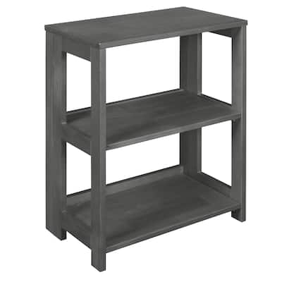 "Flip Flop 28"" High Folding Bookcase- Grey"
