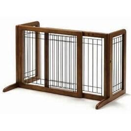 """Richell R94135 Freestanding Pet Gate Small in Autumn Matte"""