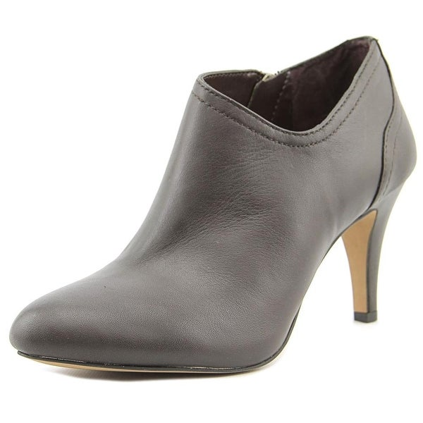 Vince Camuto Vo-Vala Women Pointed Toe Leather Brown Bootie