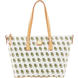 Dooney & Bourke NCAA Baylor Zip Top Shopper (Introduced by Dooney & Bourke at $248 in Mar 2016) - White