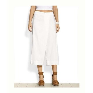 Tommy Bahama Women's Florence Stretch Culotte White Size 2
