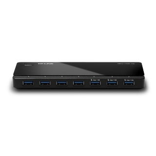 Tp-Link Uh700 Usb 3.0 7-Port Hub 5Gbps Transfer Rate With 12V/2.5A Power Adapter