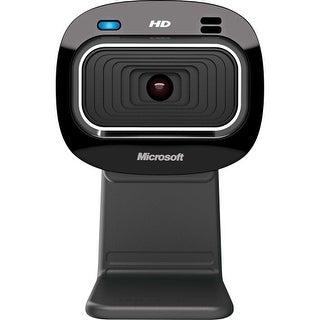 Microsoft T4H-00002 Microsoft LifeCam HD-3000 Webcam - 30 fps - USB 2.0 - 1280 x 720 Video - CMOS Sensor - Fixed Focus -
