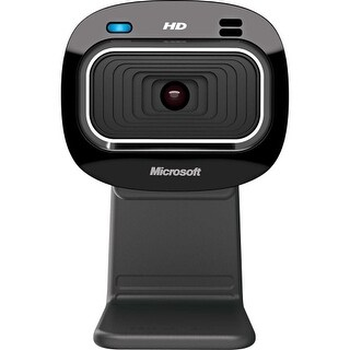 Microsoft T4H-00002 Microsoft LifeCam HD-3000 Webcam - 30 fps - USB 2.0 - 1280 x 720 Video - CMOS Sensor - Fixed Focus -