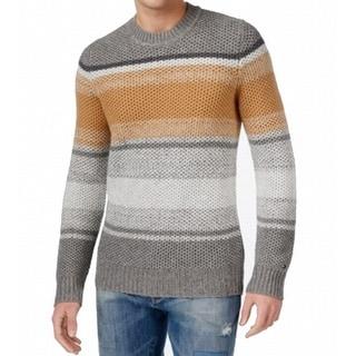 Tommy Hilfiger NEW Gray Mens Medium M Colorblock Crewneck Sweater
