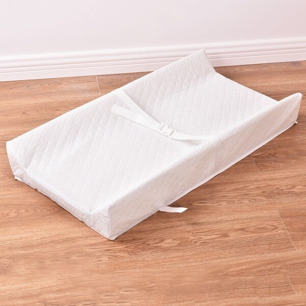 Costway Baby Table Contoured Changing Pad Diaper Change Nursery