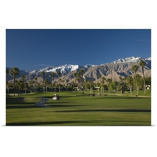 Poster Print entitled Desert Princess Country Club, Palm Springs, Riverside County, California