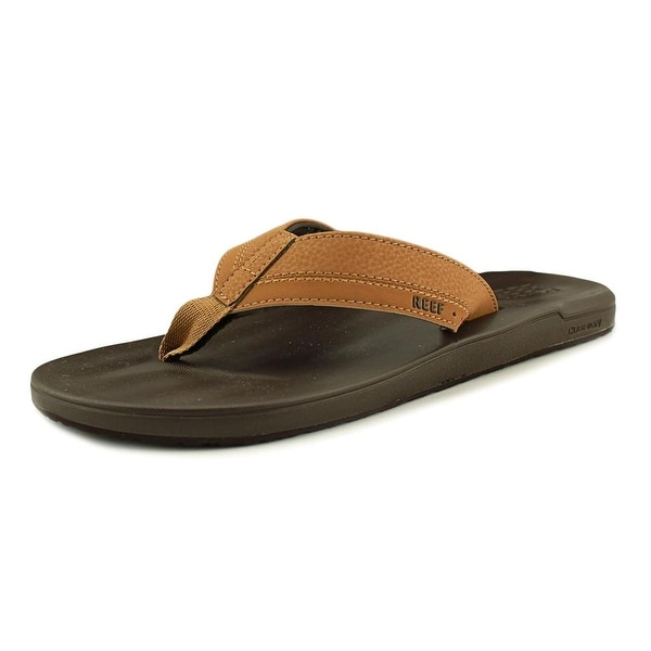 Reef Contoured Men Open Toe Synthetic Brown Thong Sandal