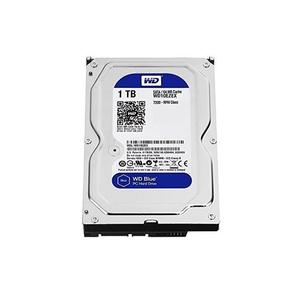 Western Digital Wd10ezex Blue 1Tb Sata-600 64Mb Buffer Internal Hard Drive For Desktop