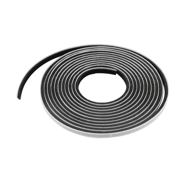 Door Seal Strip Weather Stripping for Window Gray 16.4 Ft(3/8 Inch Width x 1/4 Inch Thick)