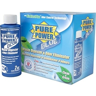 Valterra V23017 'Pure Power Blue' Waste Digester and Odor Eliminator - 4 oz.
