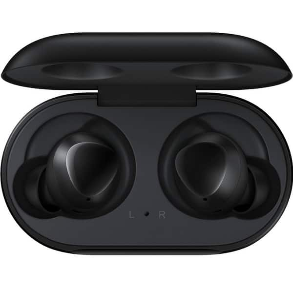 Shop Samsung Galaxy Buds 2019 Bluetooth True Wireless Earbuds Wireless Charging Case Included Black 1 6 X 3 7 X 3 4 Overstock 29344765