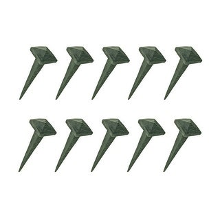 2.5 Inch Wrought Iron Nails Square Pyramid Clavos Nail Pack Of 10