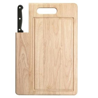 Ginsu Bakelite Santoku Knife And Cutting Board Set