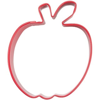 """Metal Cookie Cutter 3""""-Apple - Red"""