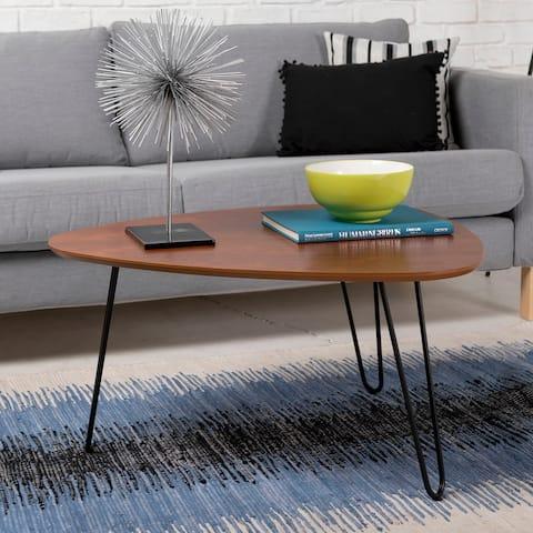Carson Carrington Askvoll 32-inch Mid-century Walnut Coffee Table