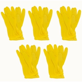 TradesPro 5-pack (10 Pairs) Long Cuff Latex, Multi-Purpose Gloves - 830448