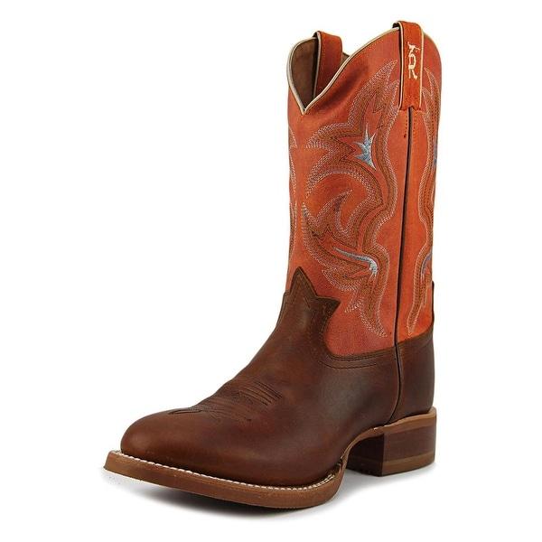 Tony Lama Bonham   Round Toe Leather  Western Boot
