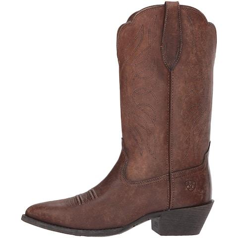 ARIAT Men's Heritage Western R Toe Boot