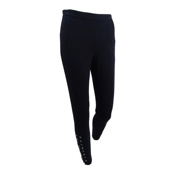 14ba2a314c Shop MICHAEL Michael Kors Women's Lace-Up Skinny Pants - On Sale ...