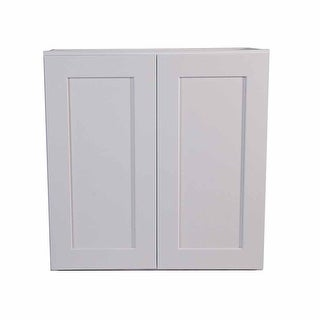 "Design House 543157 Brookings 30"" Wide x 36"" High Double Door Kitchen Cabinet - White"
