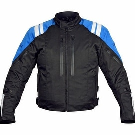 Men Motorcycle Textile Race Jacket CE Protection Black MBJ057-2