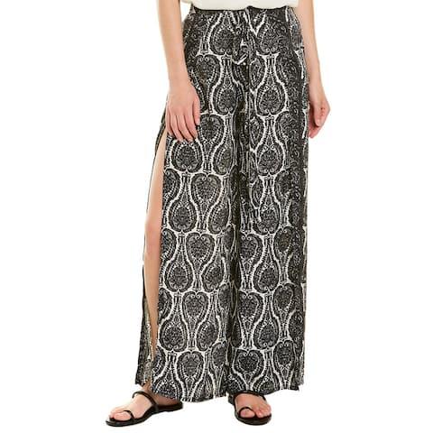Elan Tie-Waist Wrap Pant