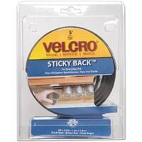 """Black - Velcro(R) Brand Sticky Back Tape 3/4""""X5'"""