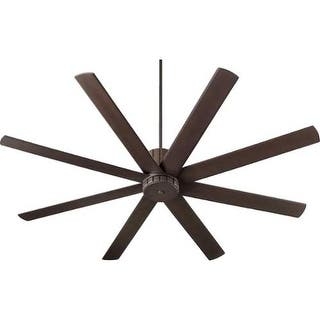 """Quorum International 96728 Proxima 72"""" 8 Blade Hanging Indoor Ceiling Fan with Reversible Motor, and Blades