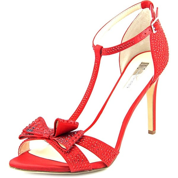 INC International Concepts Reesie 2 Women Spicy Red Sandals