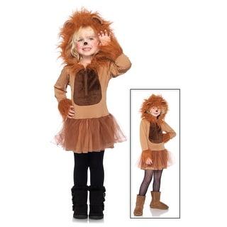 Child Cuddly Lion Costume