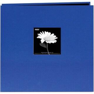 "Pioneer Book Cloth Cover Post Bound Album 12""X12""-Cobalt Blue"