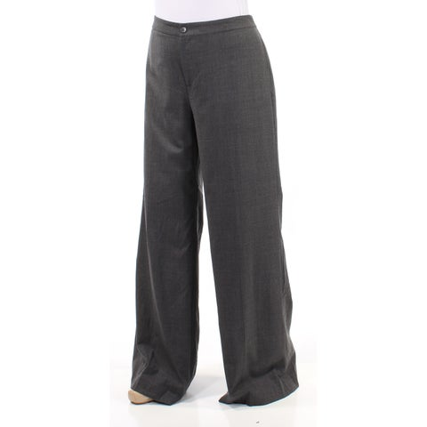 RALPH LAUREN Womens Gray Wear To Work Pants Size: 10