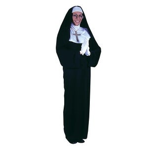 FW1106 Morris Costumes Mother Superior Std ,One Size