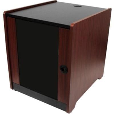 Startech 12U Rack Enclosure Server Cabinet - 20.6 In. Deep - Wood Finish - Flat Pack