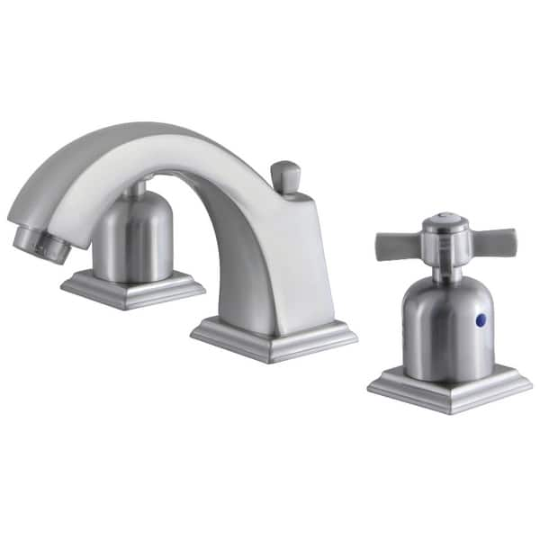 Shop Kingston Brass Fsc468 Zx Millennium 1 2 Gpm Widespread Bathroom Faucet Brushed Nickel Overstock 31953083