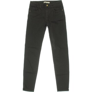 Zara Basic Womens Twill Stretch Skinny Pants - 2
