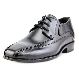 Stacy Adams Peyton Youth Bicycle Toe Leather Black Oxford